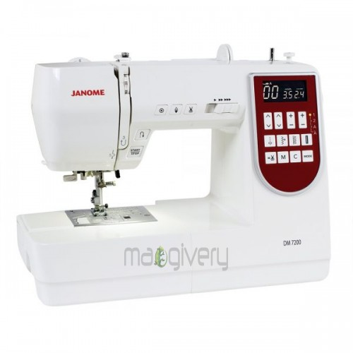 Janome Decor Monogram 7200 Demo