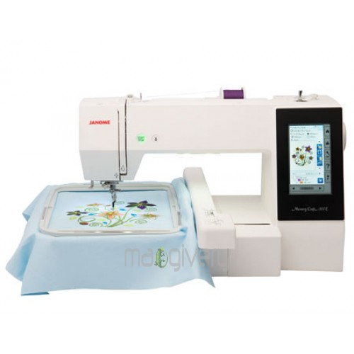 Janome Memory Craft 500E Demo