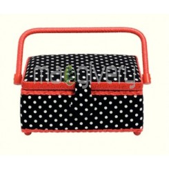 Prym Polka Dots Sewing Basket