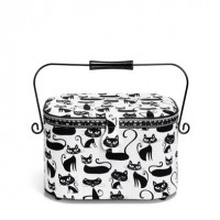 Prym Sewing Basket Cats L
